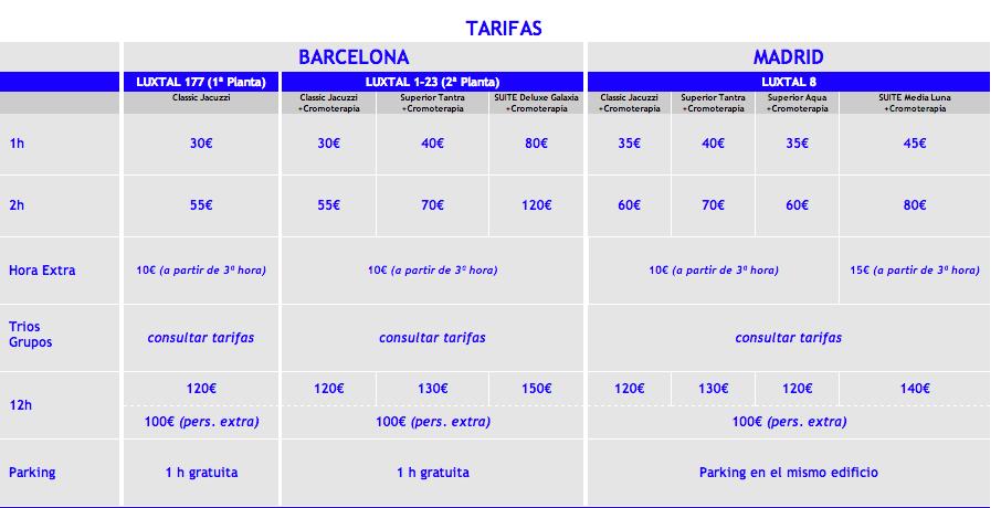 http://www.luxtal.es/apartamentos_por_horas_tarifas.html